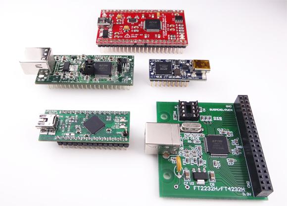 FTDI 2232Hを搭載したボード群
