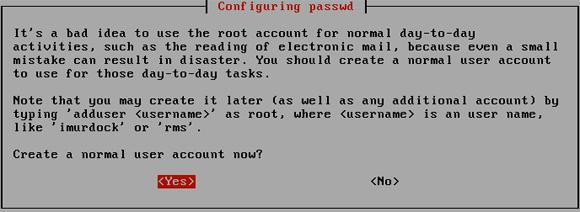 20B. create a user